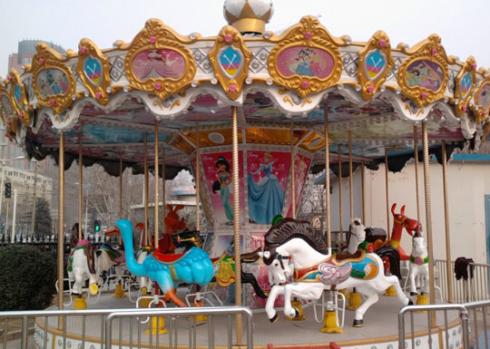 SpringFestTO Rides - Carousel