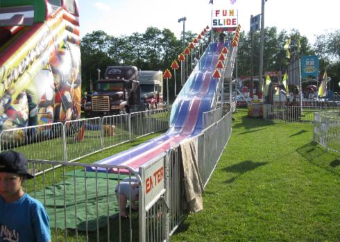 SpringFestTO Rides - Fun Slide