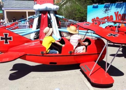 SpringFestTO Rides - Red Baron