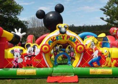 SpringFestTO Rides - Mickey Playground