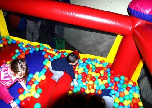 SpringFestTO Rides - Mini Bounce Ballpond